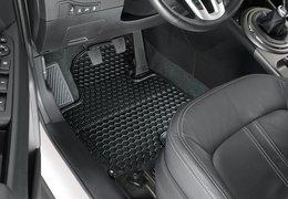Floor mats, rubber