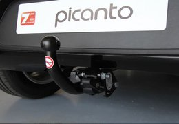 Tow bar RMC bike carrier system