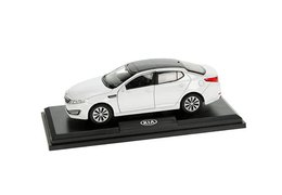 Model car, Kia Optima, white