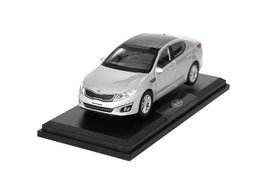 Model car, Kia Optima, silver