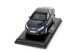 Model car, Kia Optima, blue