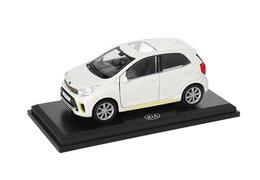 Model car, Kia Picanto, white