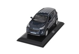 Model car, Kia Sportage, navy