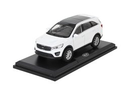 Model car, Kia Sorento, white