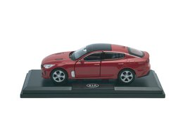 Model car, Kia Stinger, red