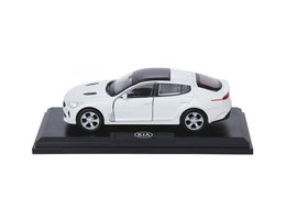 Model car, Kia Stinger, white