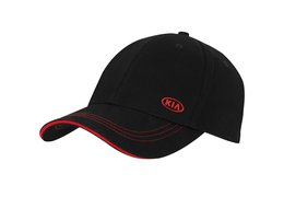 Baseball cap, Kia logo, black