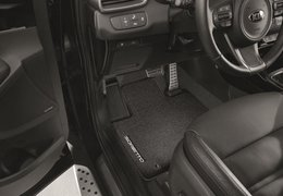 Floor mats velour 1st and 2nd row