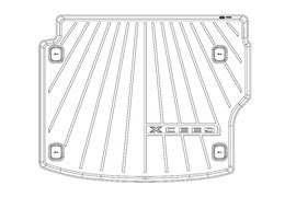 Trunk liner, XCeed PHEV