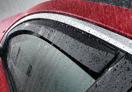 Wind deflectors front Optima sedan & Sportswagon (JF)