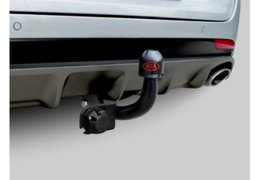 Tow bar fixed