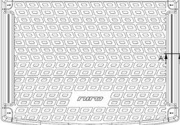 Trunk liner Niro HEV (More, Sense)