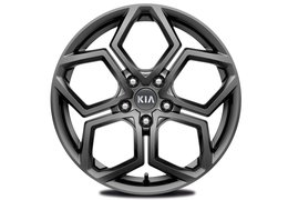 "Alloy wheel set 18"", Hanyang Graphite"