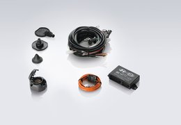 Tow bar wiring kit, 7p
