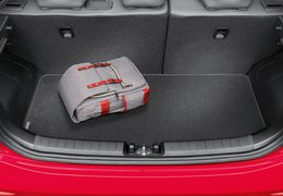 Trunk mat, Picanto with adjustable luggage board