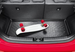 Trunk liner, Picanto with adjustable luggage board
