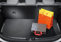 Trunk mat, Rio with luggage undertray