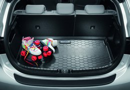 Trunk liner, Rio with luggage undertray