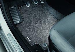 Floor mats velour