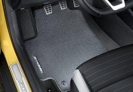 Floor mats, velour