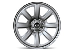 Wheel kit steel 17""