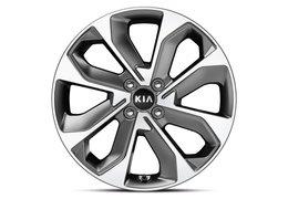 """Wheel kit aluminium 17"""""""