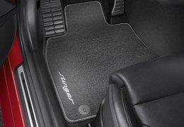 Floor mats velour, Stinger, 2WD