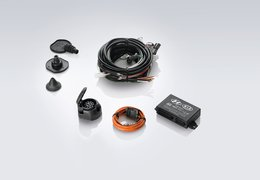 Tow bar wiring kit, 13p