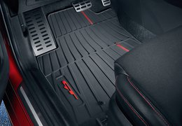 Floor mats rubber GT