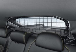 Cargo separator upper frame