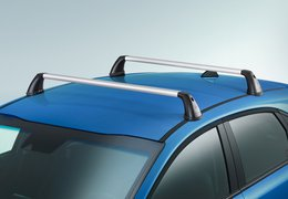 Roof rack aluminium Ceed without sunroof