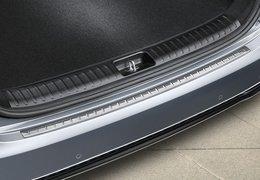 Rear bumper protection, high gloss
