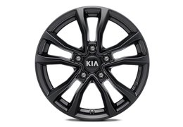 "Alloy wheel set 16"" 'Anyang, black' Niro HEV, PHEV"