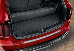 Trunk mat velour 7 seats, foldable