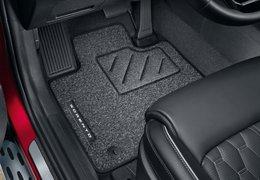 Floor mats standard 1st and 2nd row (diesel versions)