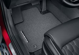 Floor mats velour 1st and 2nd row (hybrid versions)