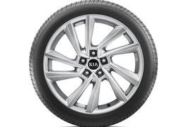 """Alloy wheel set 19"""", Yongsan silver"""