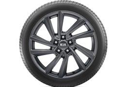 """Alloy wheel set 19"""", Yongsan Graphite"""