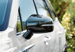 Door mirror caps, piano black