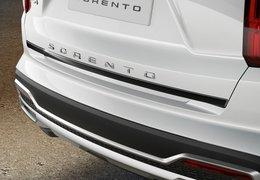 Tailgate trim line, piano black