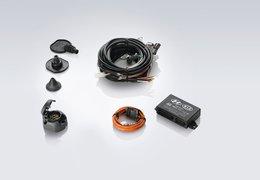 Tow bar wiring kit, 7p