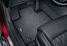 Floor mats premium 1st and 2nd row (hybrid versions)