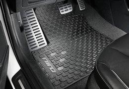 Floor mats, rubber Niro EV